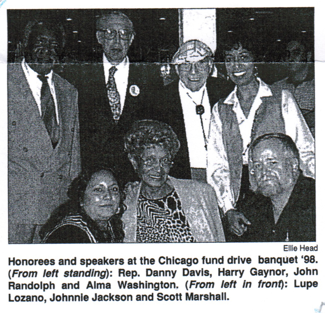 Danny Davis, Harry Gaynor, John Randolph, Alma Washington, Lupe Lozano, Johnnie Jackson, Scott Marshall