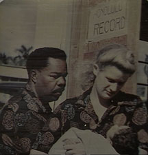 Davis and Canfield with first child, Hawaii