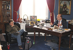 Jim McGovern, Tim Carpenter, July, 09