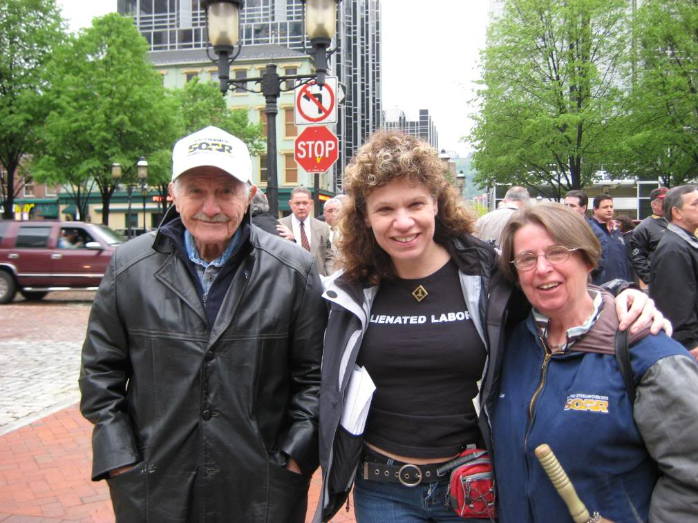 George Edwards, Donna Spadaro, Denise Winnebrenner Edwards, circa 2009