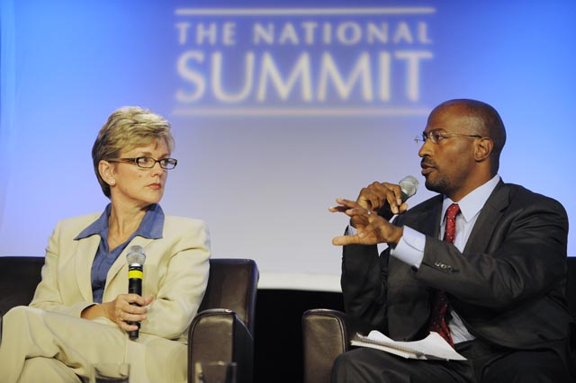 Granholm and Jones, National Summit, 2009