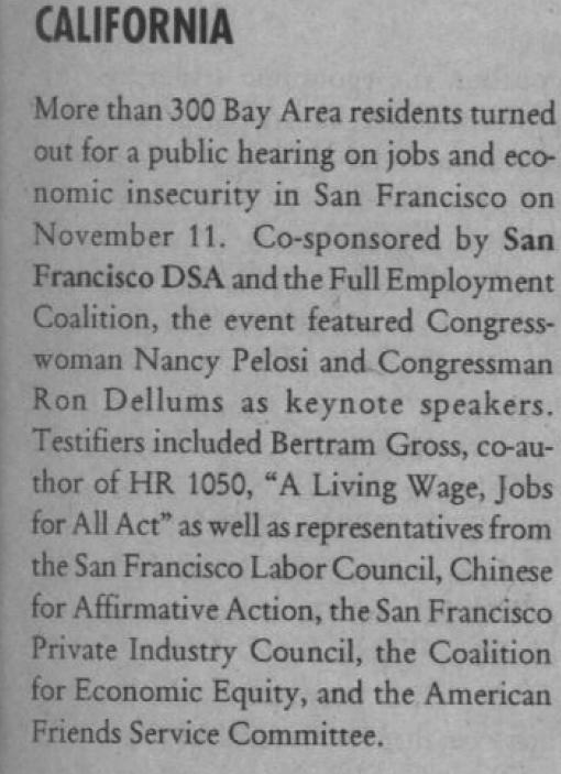 Democratic Left, Jan./Feb. 1996, page 16