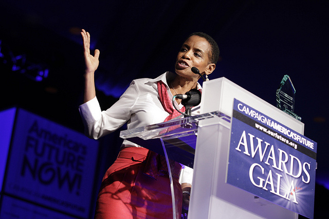Donna Edwards at America's Future Now 2010