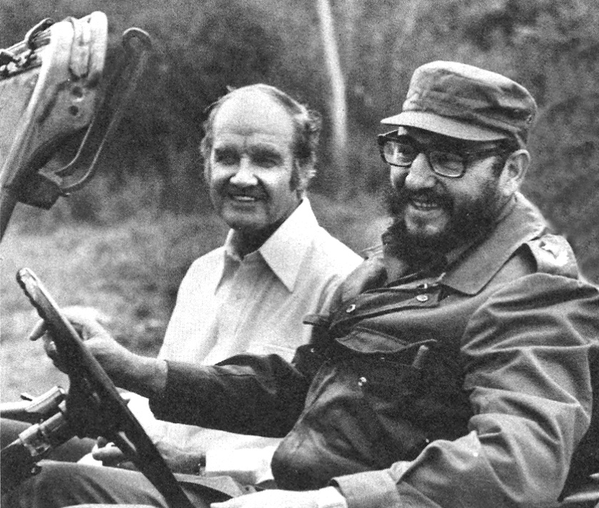 McGovern with Castro, 1975