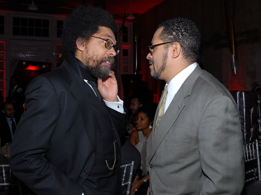 Cornel West and Michael Eric Dyson