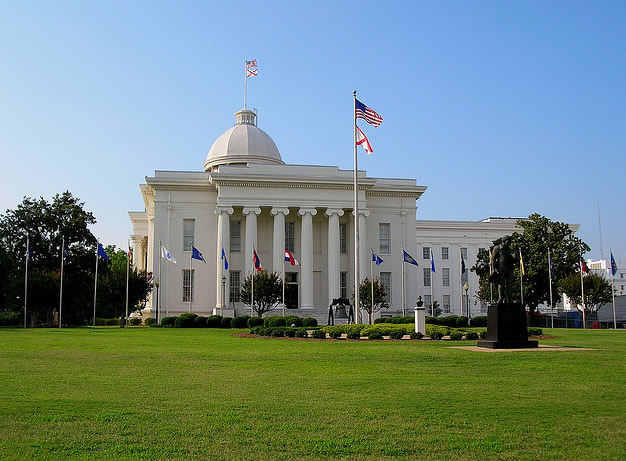 The Alabama State Capitol, Montgomery, AL