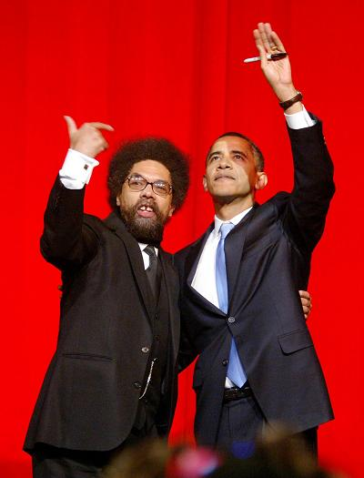 "Cornel West and ""comrade"""