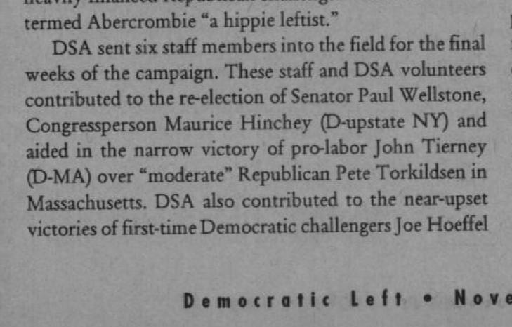 Democratic Left, Nov. 1996, page 11