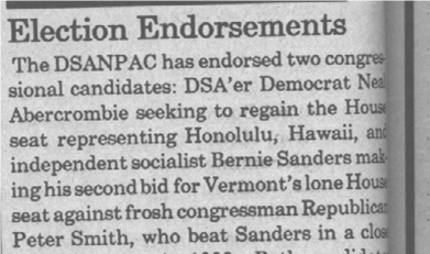 From Democratic Left, Nov./Dec. 1990, page 4