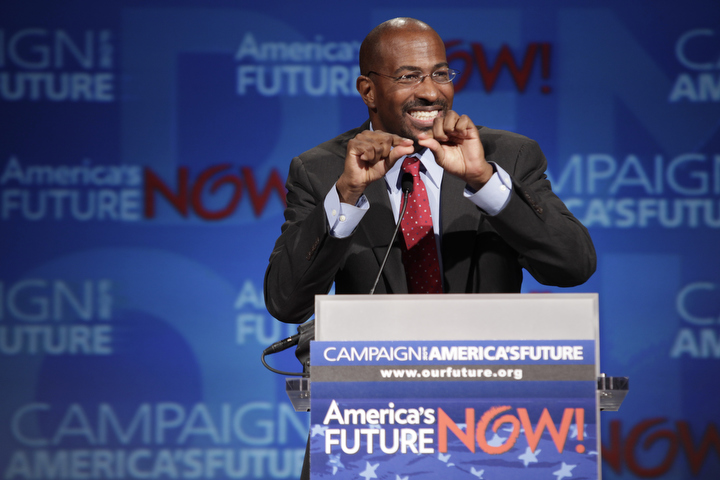 Van Jones speaks at America's Future Now 2010