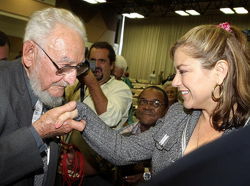 Ramon Castro, Fidel's older brother, Loretta Sanchez